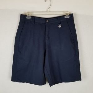 Oakley Flat Front Shorts Mens Blue Golf Shortd 34